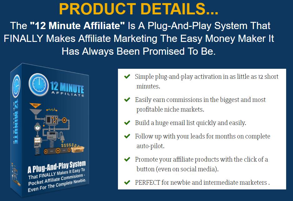 12 minute affiliate system login