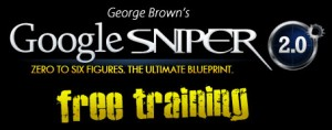 Google Sniper 2 Free Training